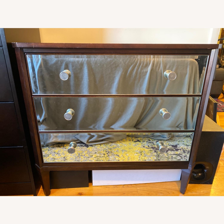 Ethan Allen Mirrored Wood Dresser - image-2
