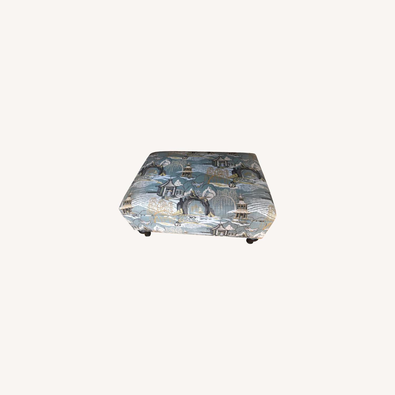 Upholstered Storage Ottoman - image-0