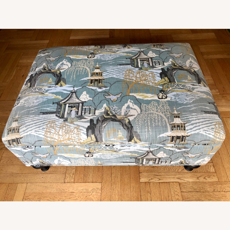 Upholstered Storage Ottoman - image-5