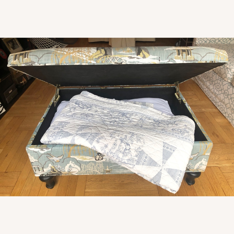 Upholstered Storage Ottoman - image-3