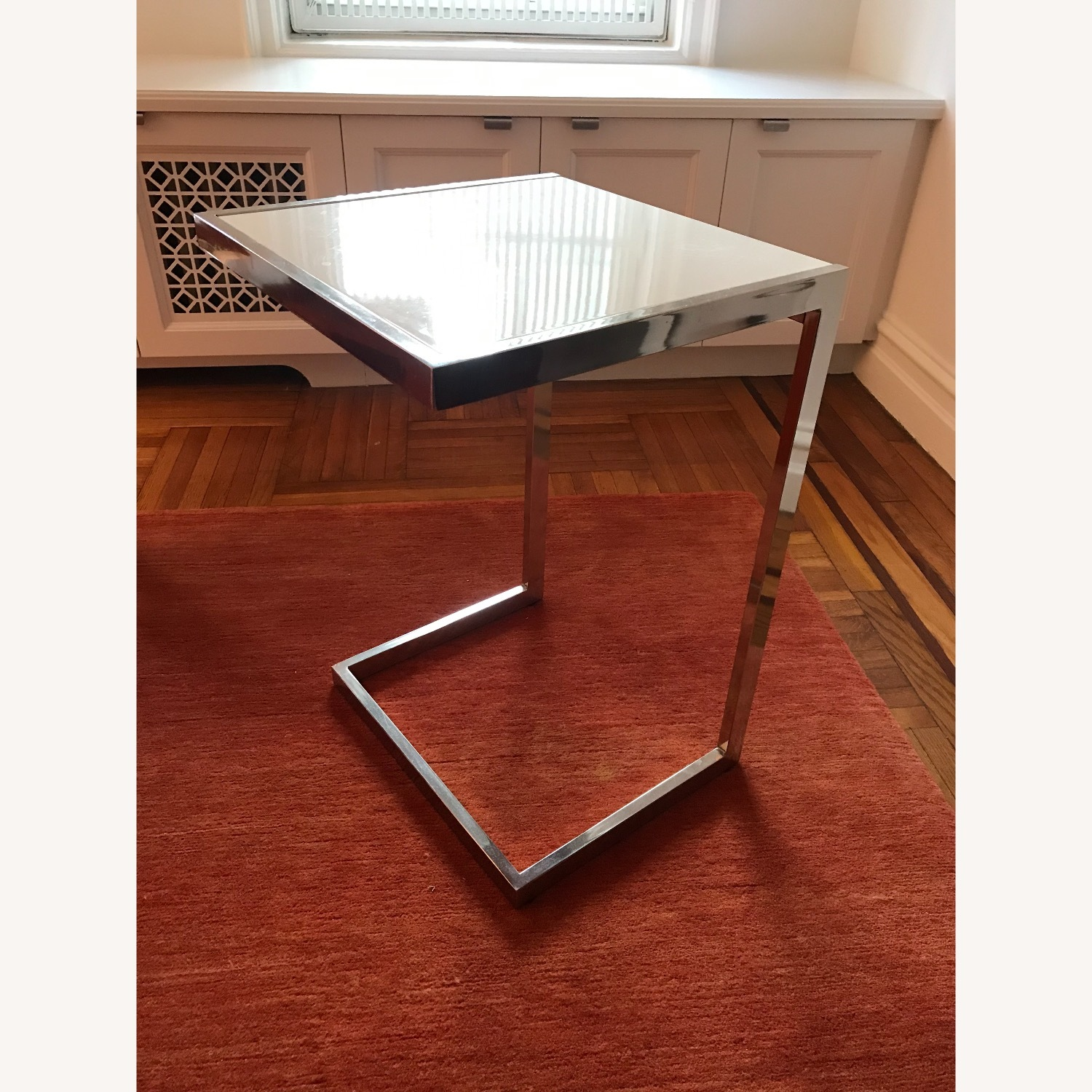 West Elm Framed C-Side Table - image-2