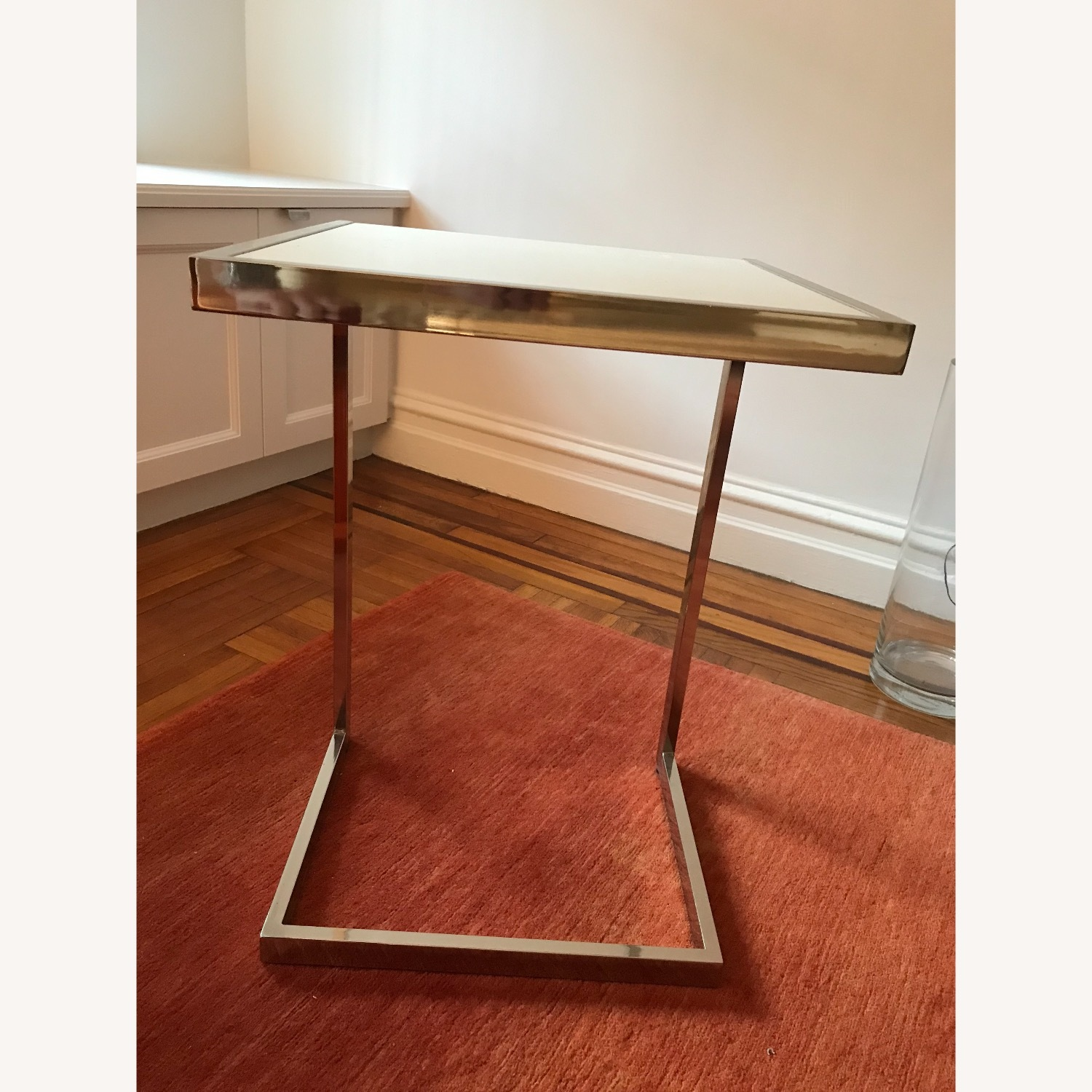 West Elm Framed C-Side Table - image-3