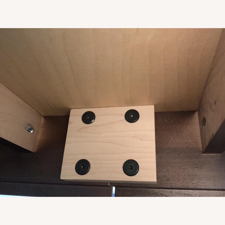 "Copeland ""Astrid"" Walnut Platform Bed + Headboard - image-21"