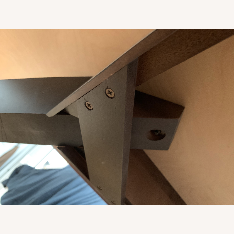 "Copeland ""Astrid"" Walnut Platform Bed + Headboard - image-22"