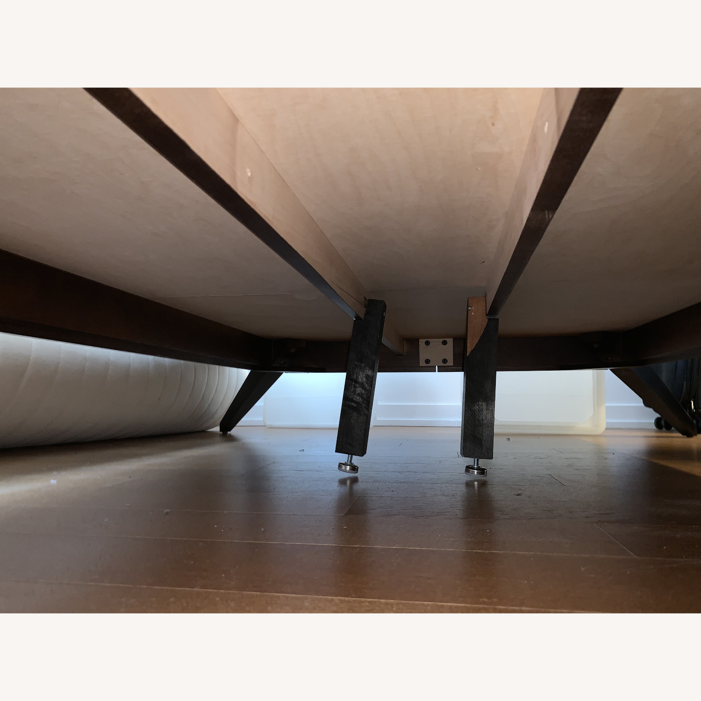 "Copeland ""Astrid"" Walnut Platform Bed + Headboard - image-14"