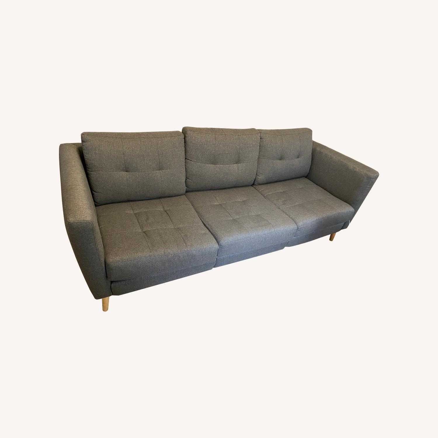 Burrow Modular Couch w/ Built-in USB Port - image-0