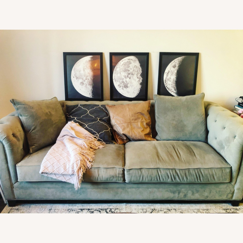 "Martha Stewart Saybridge 92"" Fabric Sofa - image-13"