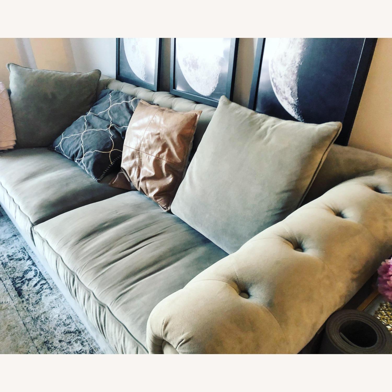 "Martha Stewart Saybridge 92"" Fabric Sofa - image-6"