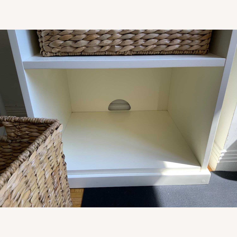 Pottery Barn 2 Shelf with Baskets - image-7