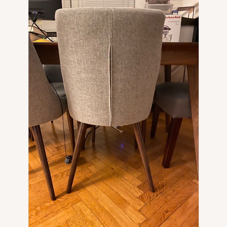 Wayfair Light Grey Dining Chairs - image-3