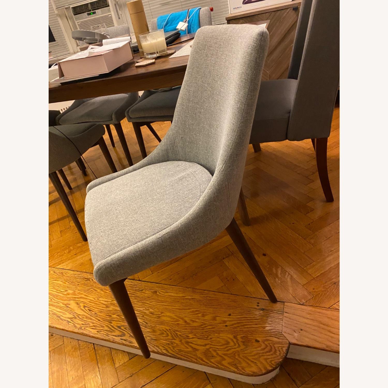 Wayfair Light Grey Dining Chairs - image-1