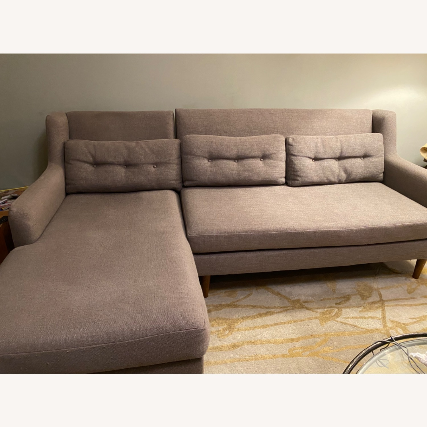 West Elm Crosby Sectional - image-1