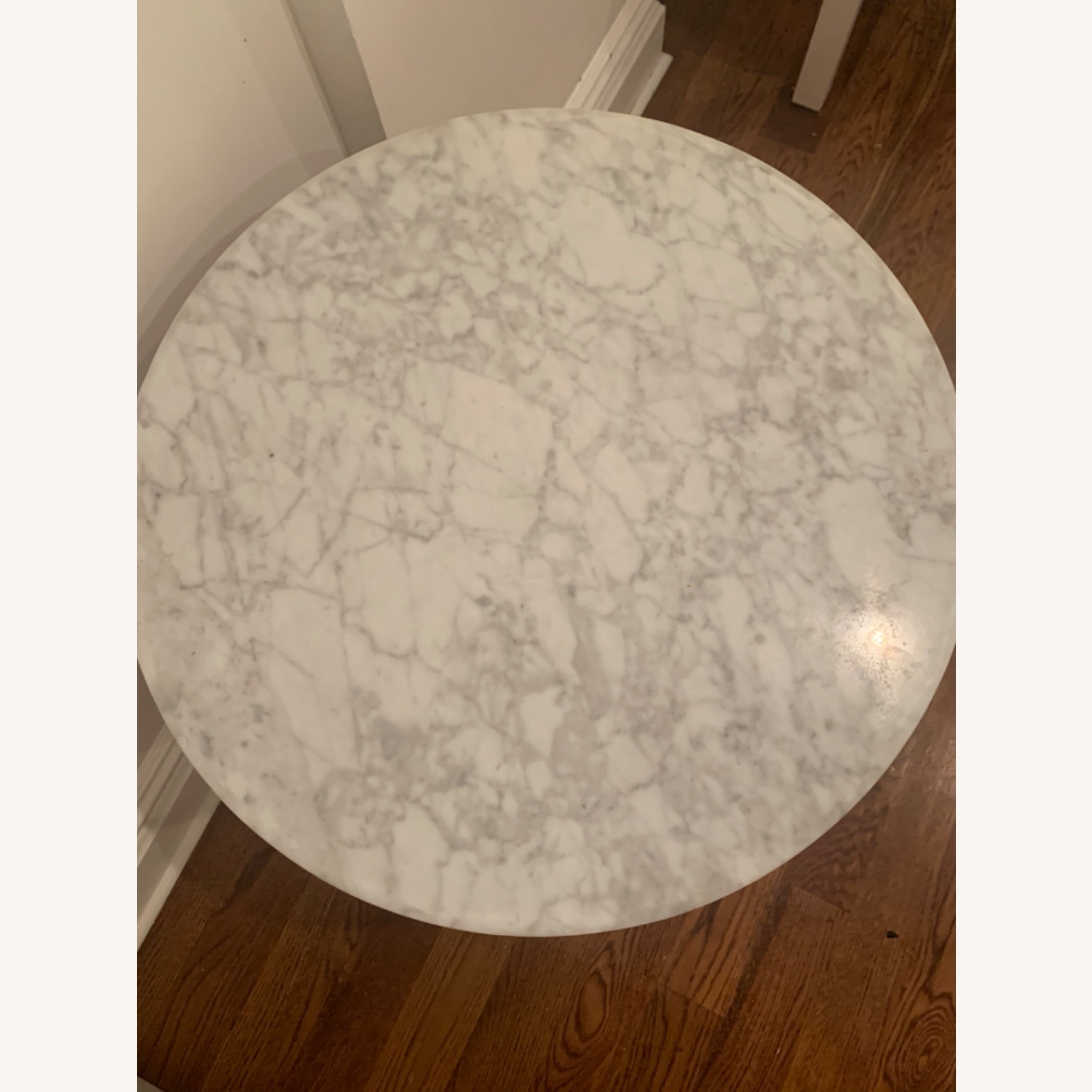 West Elm Marble and Brass Side Tables - image-4