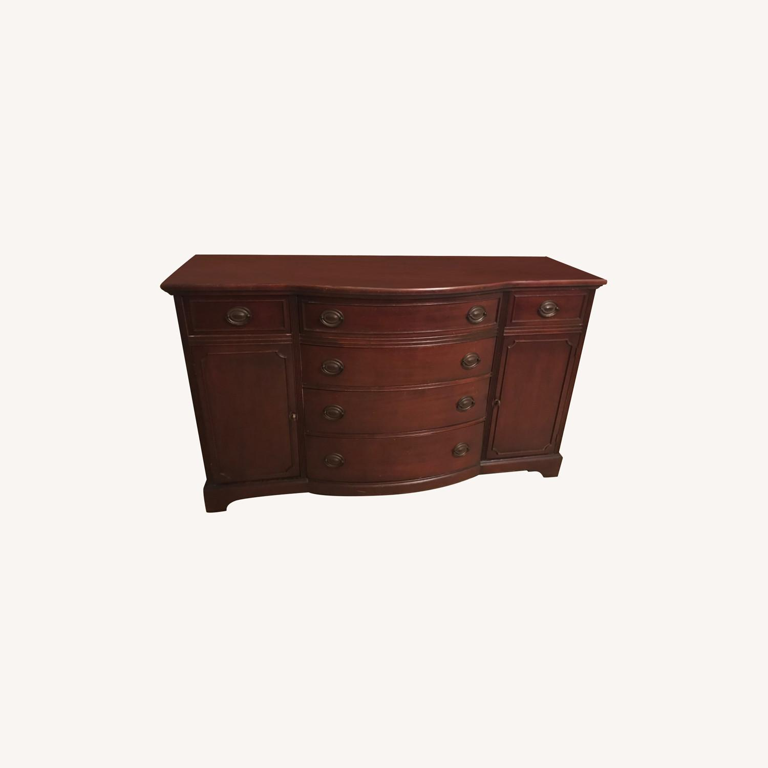 Drexel Mahogany Buffet -Sideboard Chest - image-0