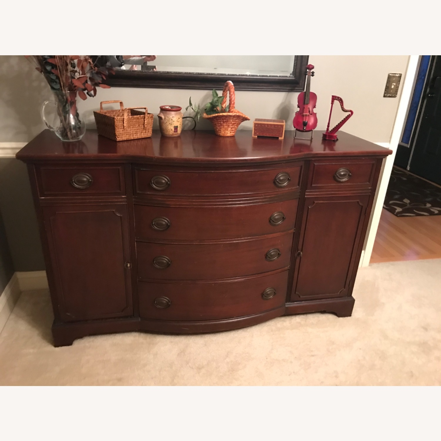 Drexel Mahogany Buffet -Sideboard Chest - image-1