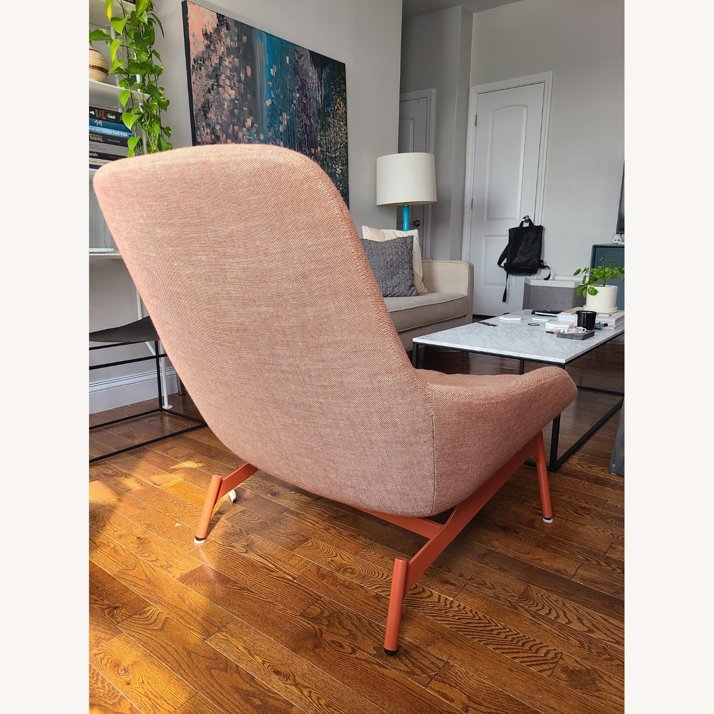 Blu Dot Lounge Chair in Tomato - image-5