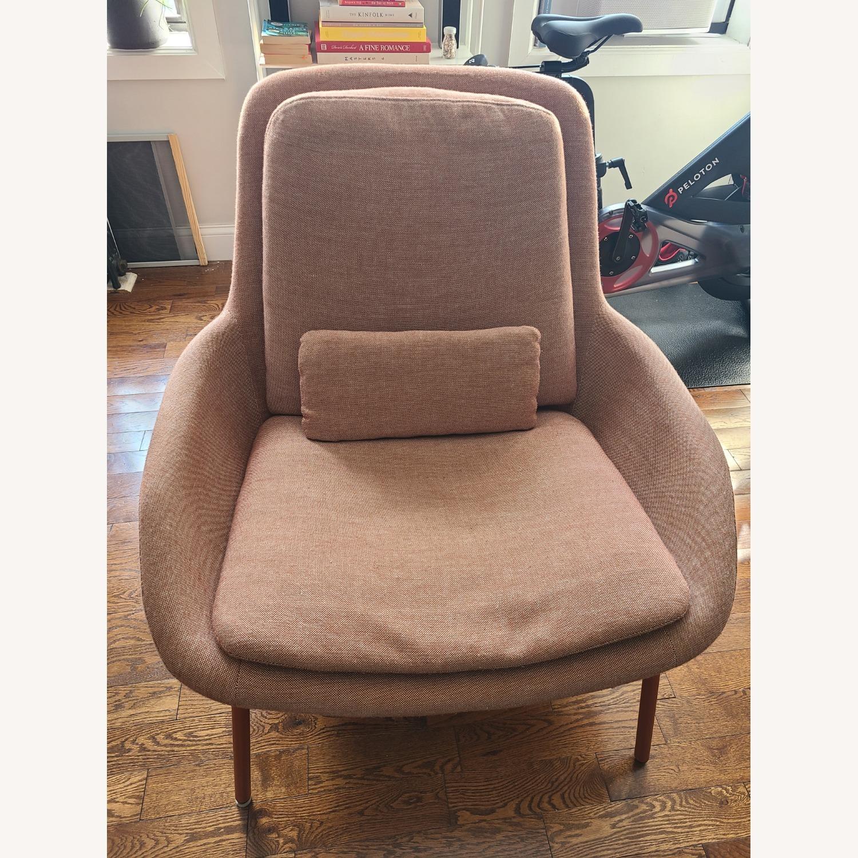 Blu Dot Lounge Chair in Tomato - image-4