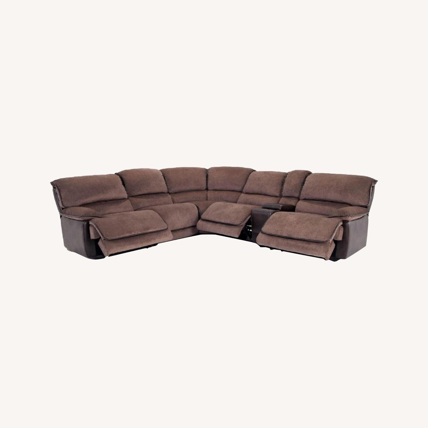 Bob's Discount 6 Piece Reclining Couch - image-0