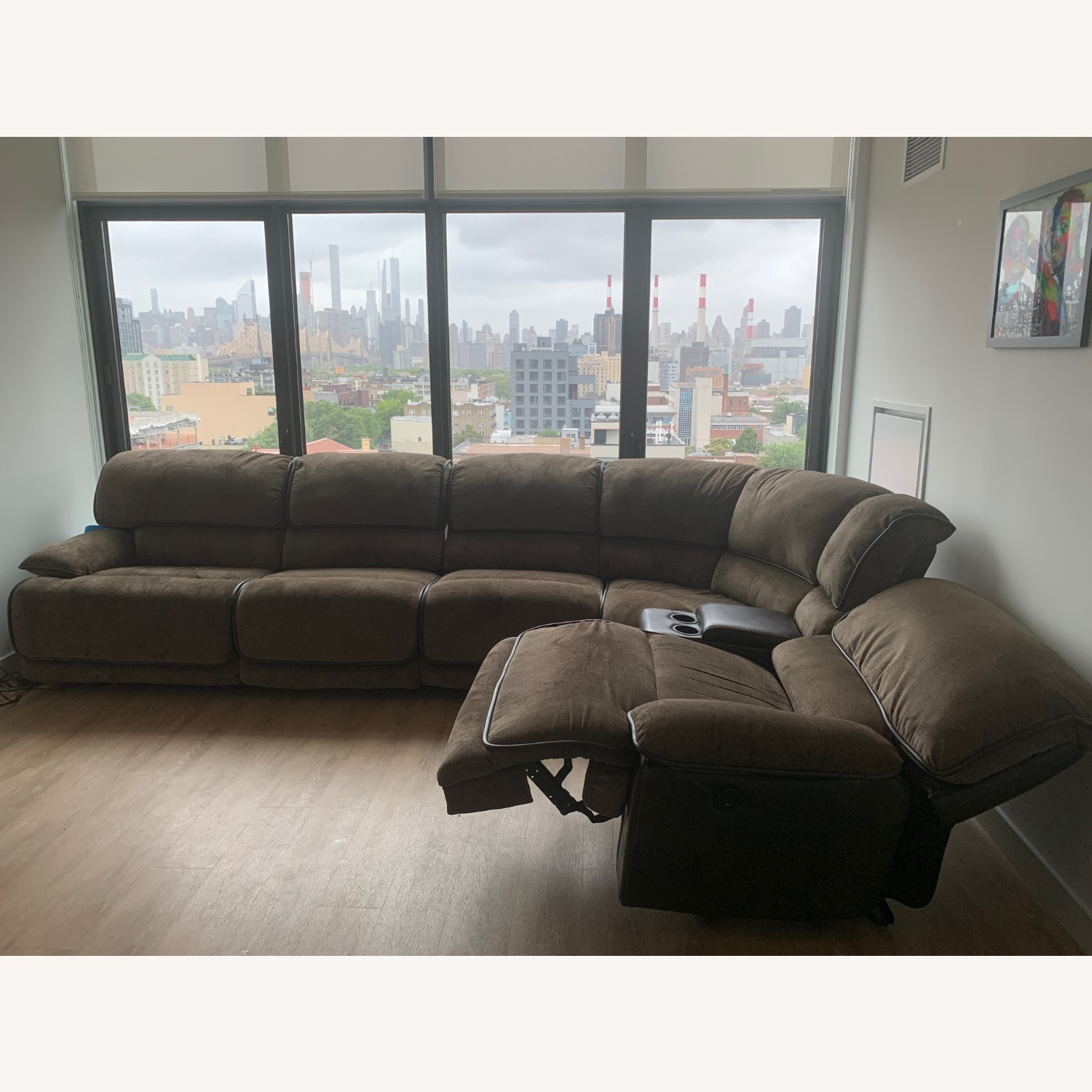 Bob's Discount 6 Piece Reclining Couch - image-2