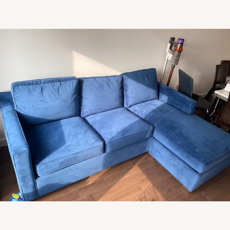 Crate & Barrel Sleeper in Blue - image-2