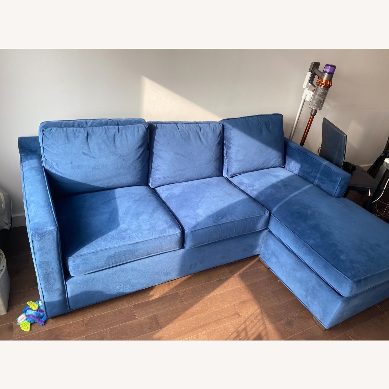 Crate & Barrel Sleeper in Blue - image-3