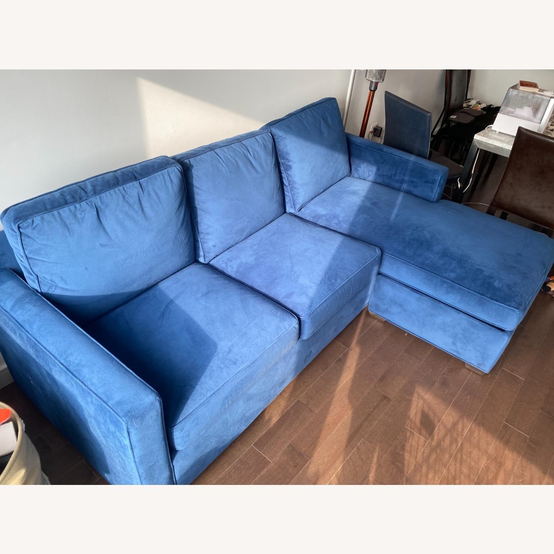 Crate & Barrel Sleeper in Blue - image-1