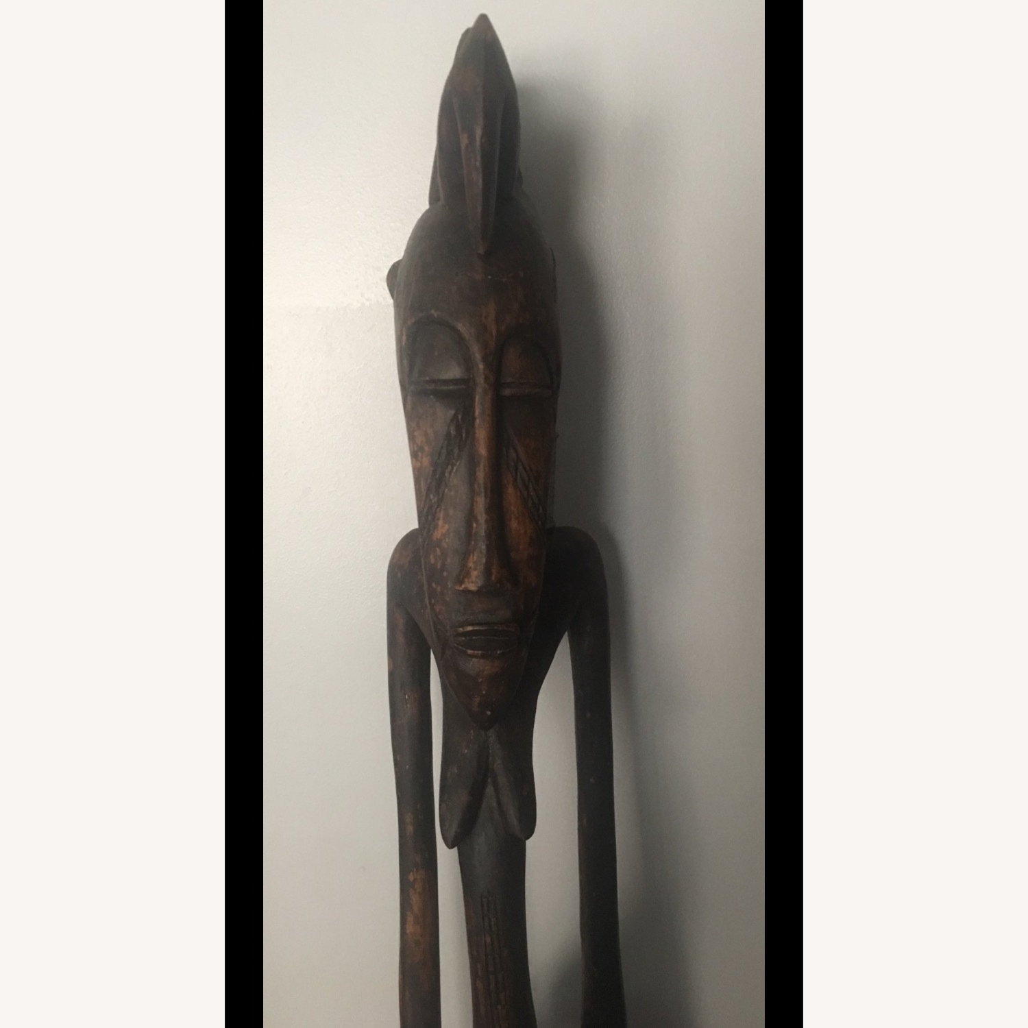 Standing Female African Scultpure - image-2