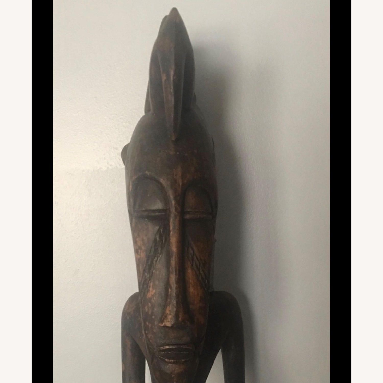 Standing Female African Scultpure - image-3