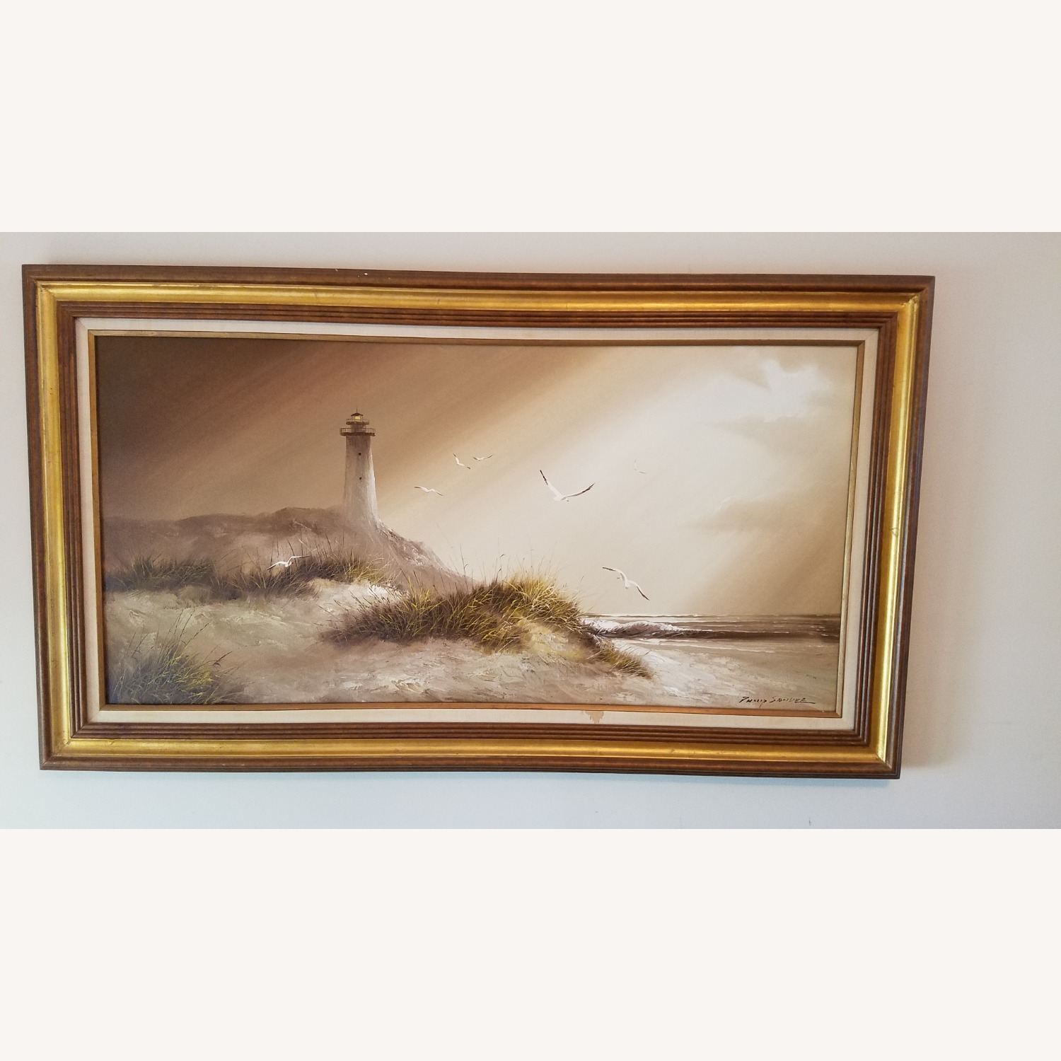 Lighthouse Oil Painting - image-1