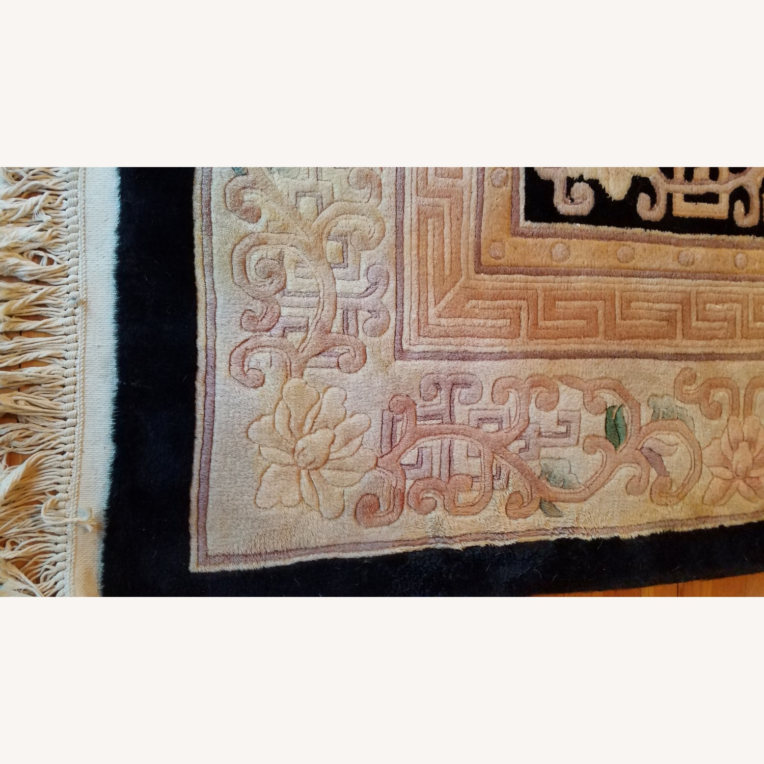 Vintage Chinese Deco Room Size Area Rug - image-3