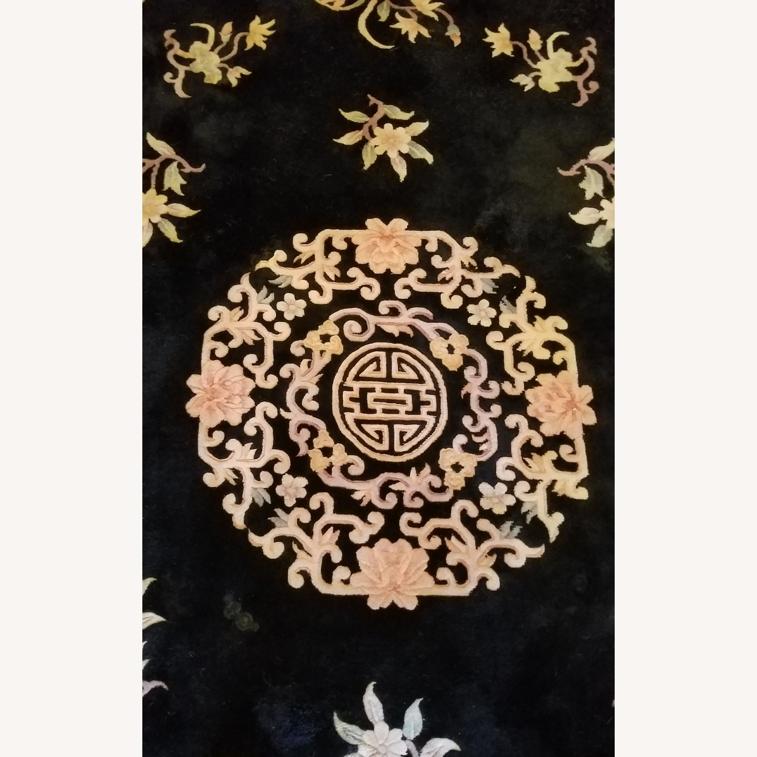 Vintage Chinese Deco Room Size Area Rug - image-4