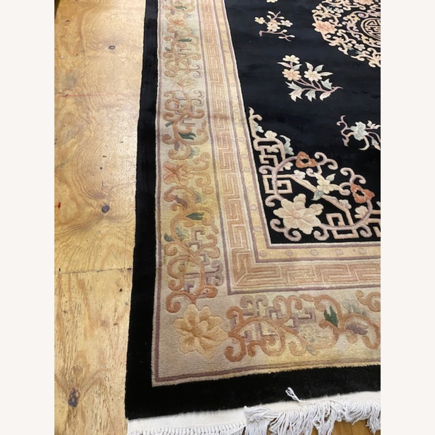Vintage Chinese Deco Room Size Area Rug - image-8