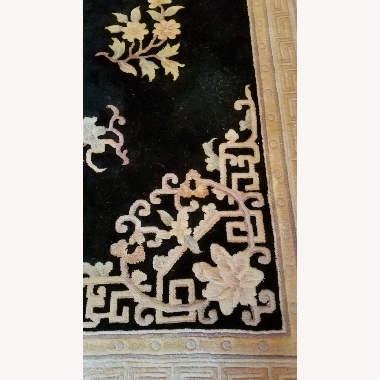 Vintage Chinese Deco Room Size Area Rug - image-1