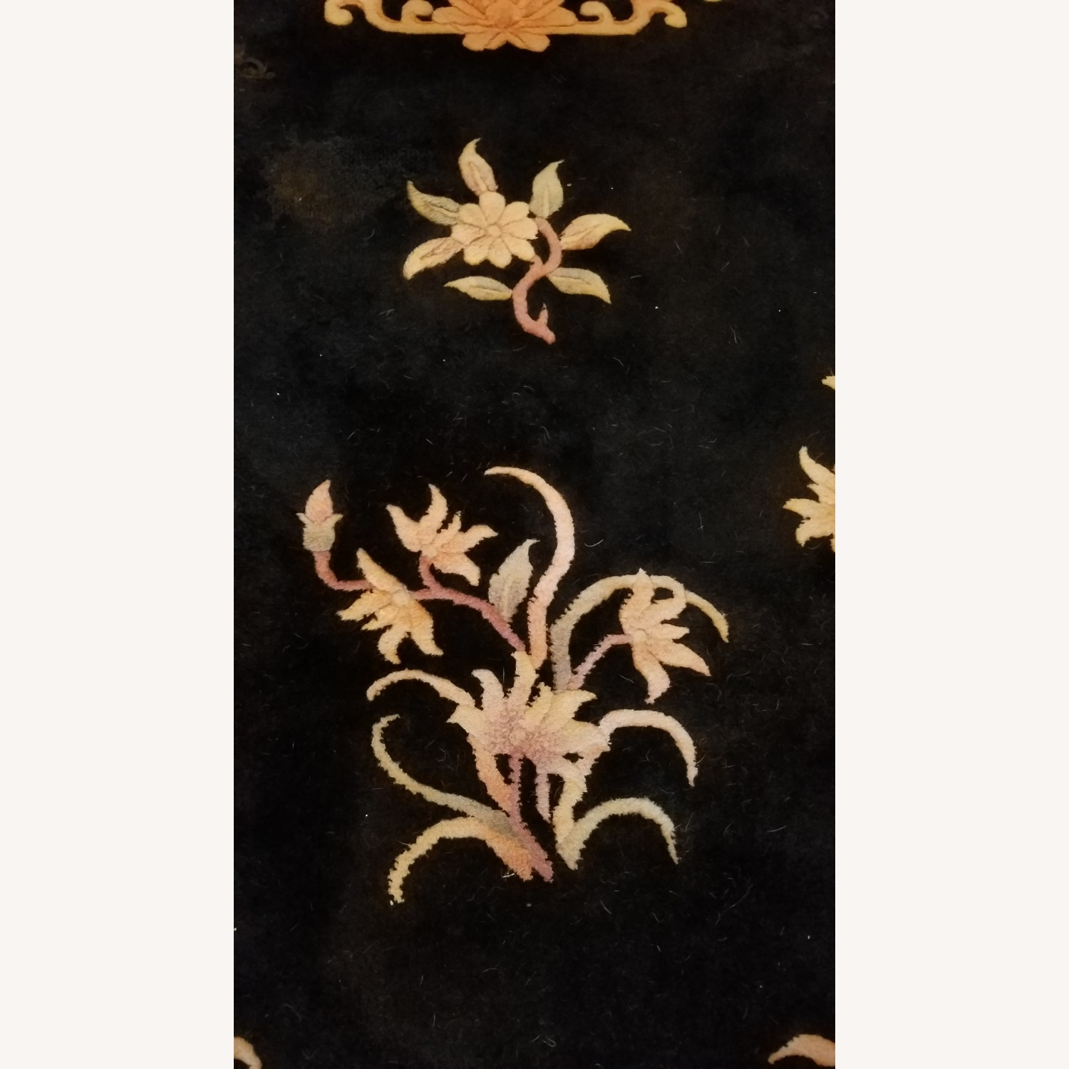 Vintage Chinese Deco Room Size Area Rug - image-2