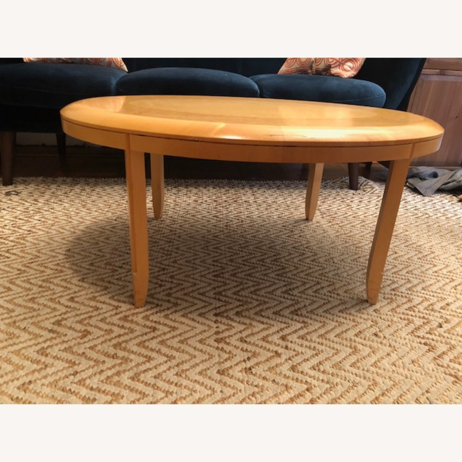 Solid Wood Coffee Table - image-0