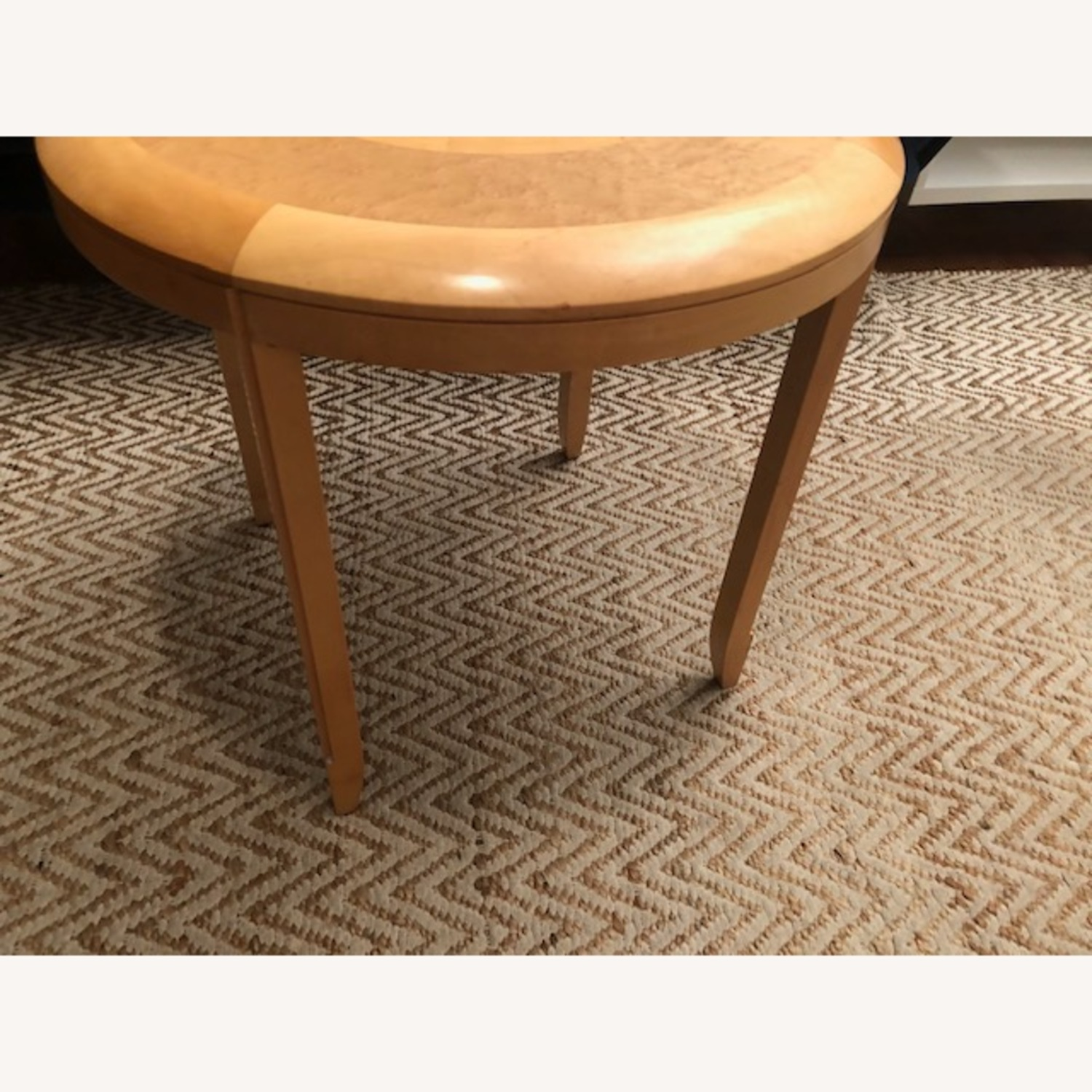 Solid Wood Round Table - image-1