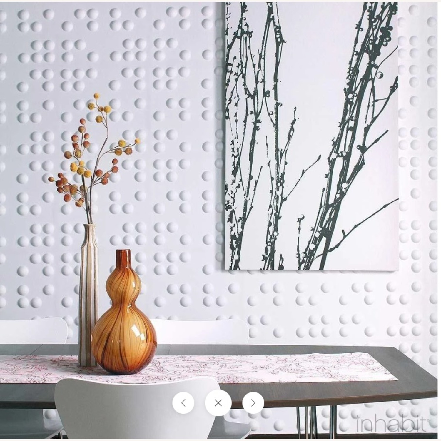 Inhabit Living Braille Wall Flats - image-1