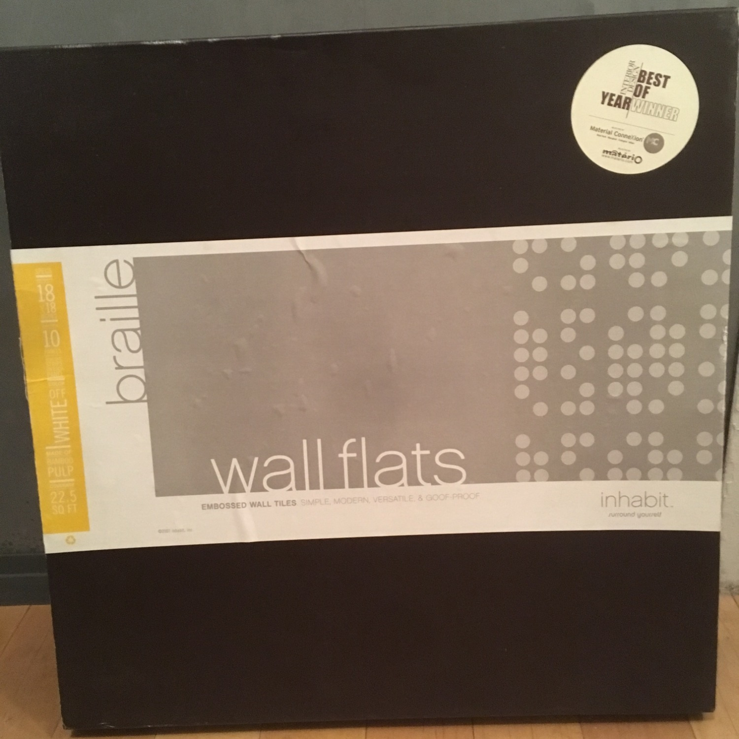 Inhabit Living Braille Wall Flats - image-2