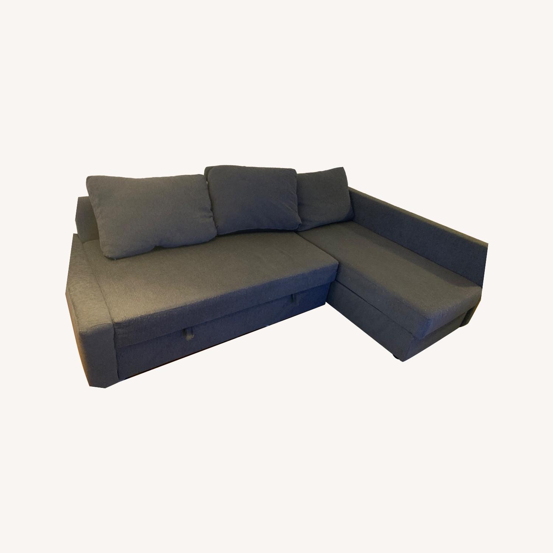 IKEA FRIHETEN Sleeper Sectional - image-0