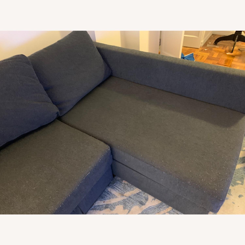 IKEA FRIHETEN Sleeper Sectional - image-4