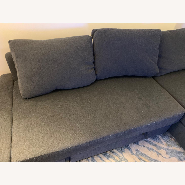 IKEA FRIHETEN Sleeper Sectional - image-2