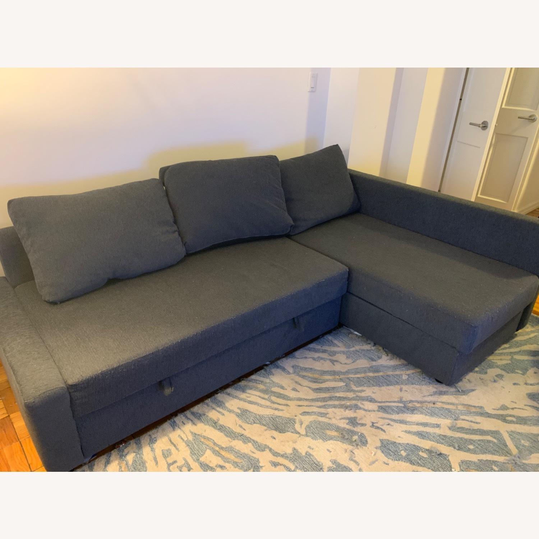 IKEA FRIHETEN Sleeper Sectional - image-1