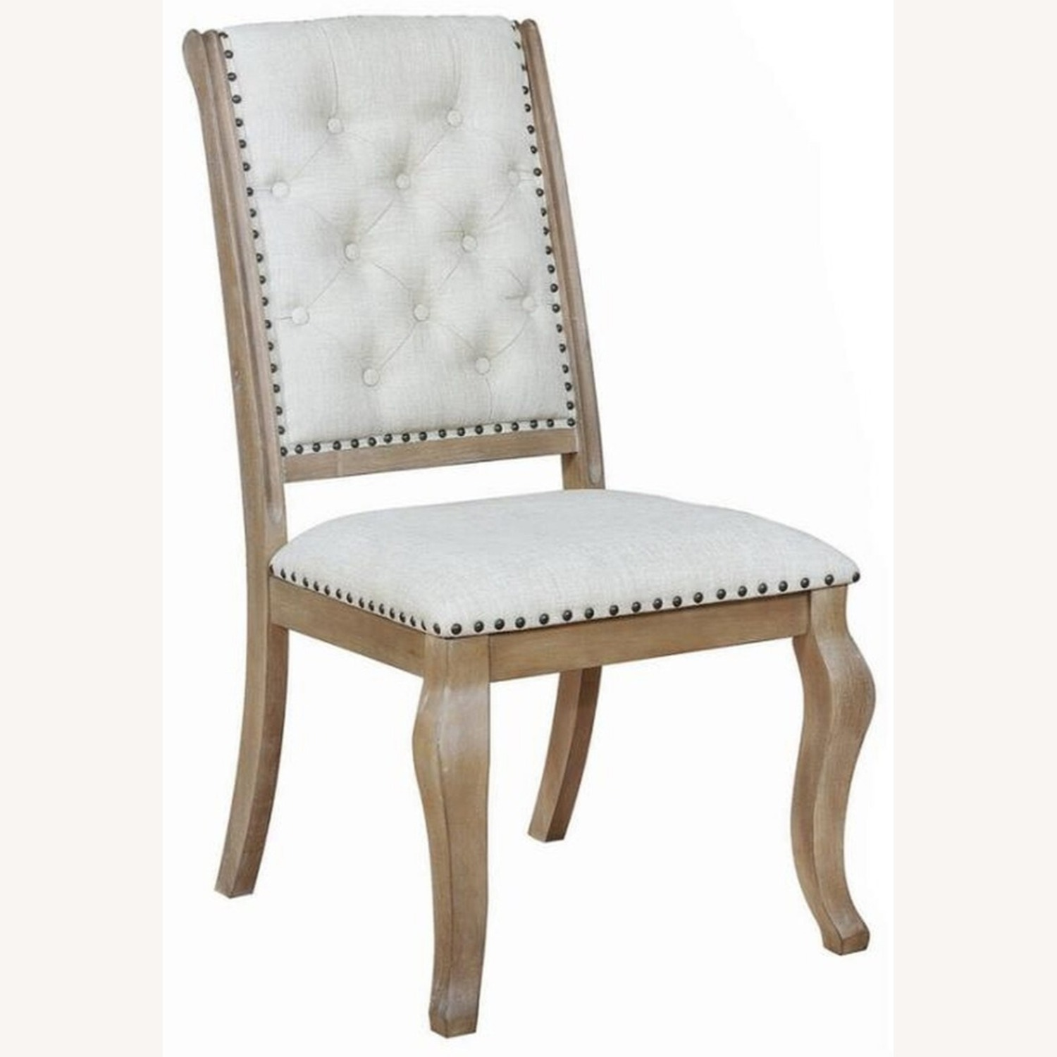 Side Chair In Barley Brown Finish - image-0