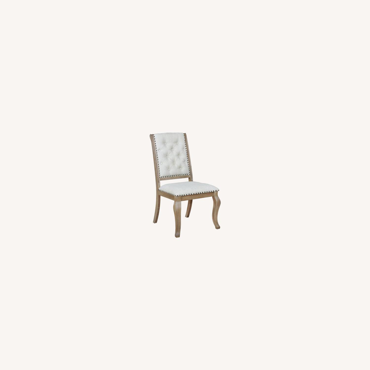 Side Chair In Barley Brown Finish - image-3