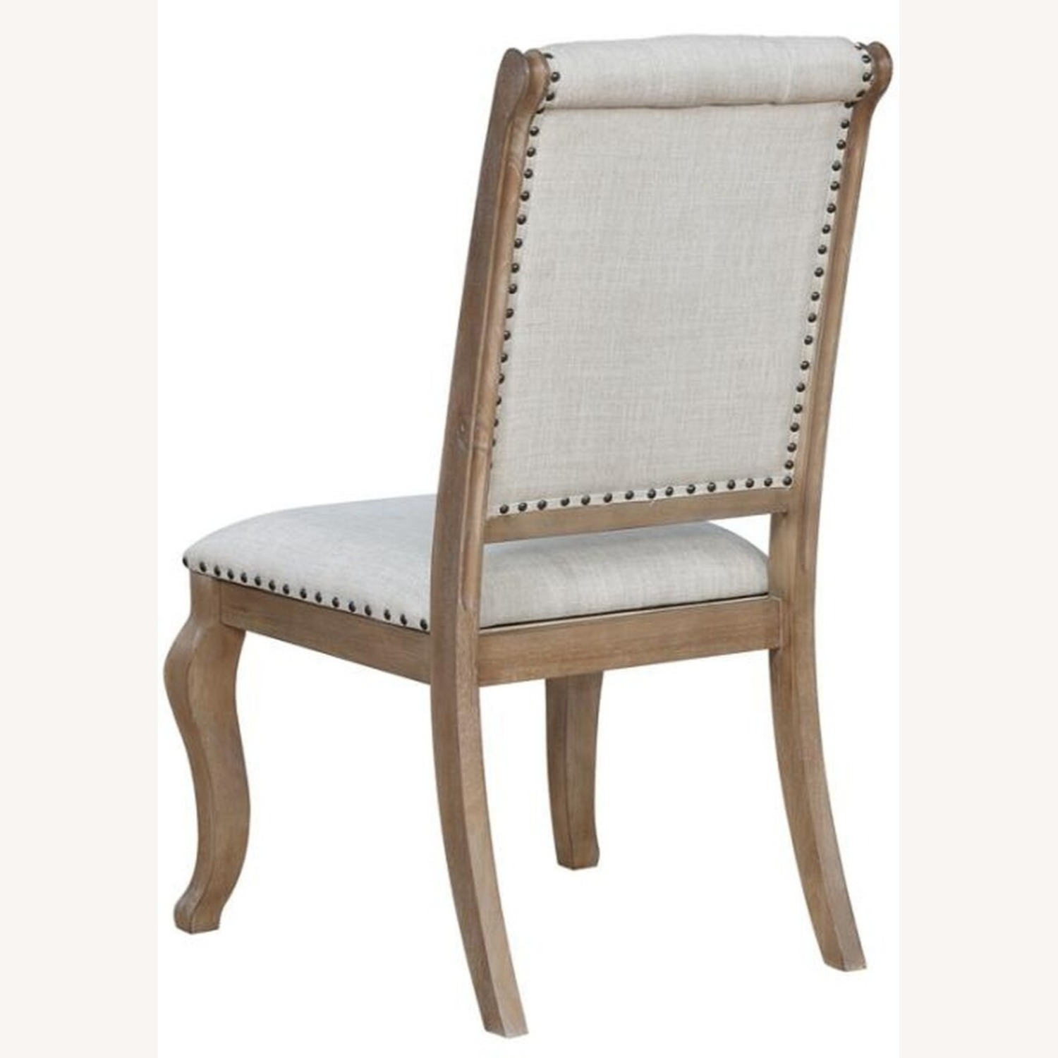 Side Chair In Barley Brown Finish - image-1