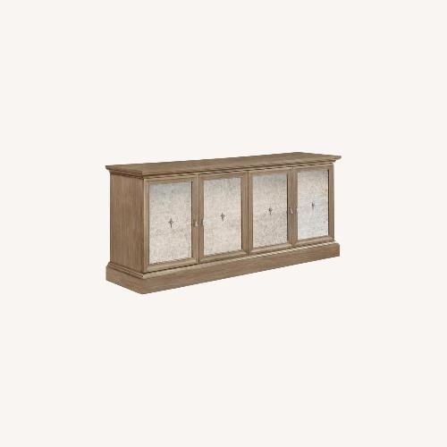Used Transitional Server In Barley Brown Finish for sale on AptDeco