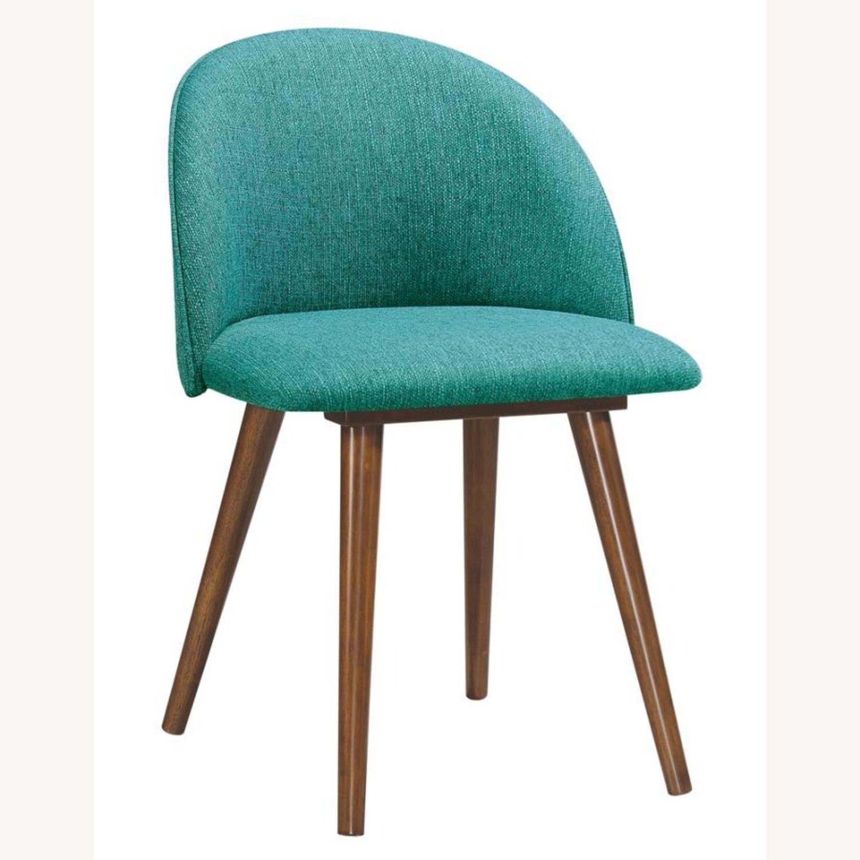 Mid-Century Side Chair In A Dark Walnut Finish - image-6