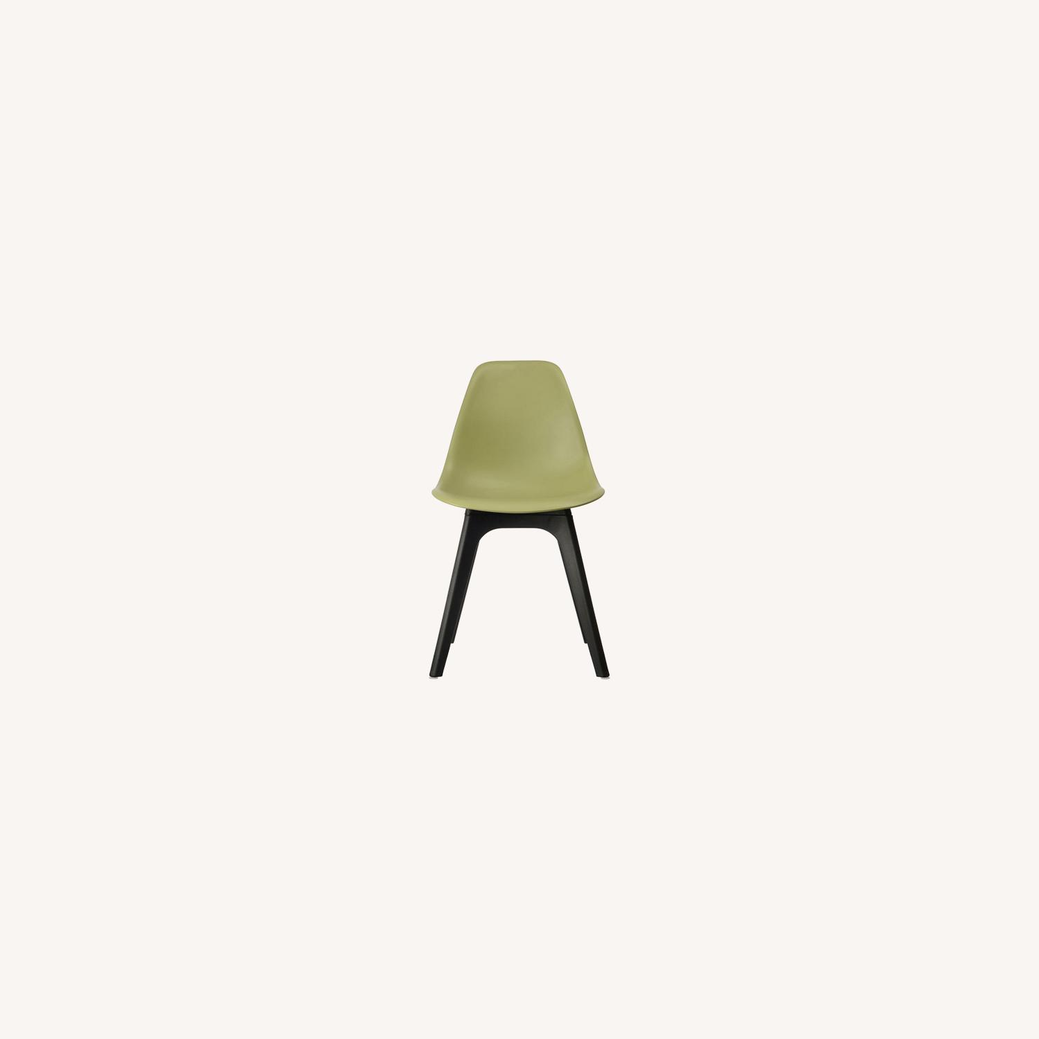 Side Chair In Lime Color Finish - image-4