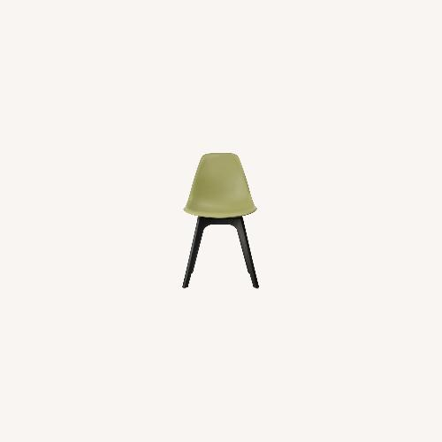 Used Side Chair In Lime Color Finish for sale on AptDeco