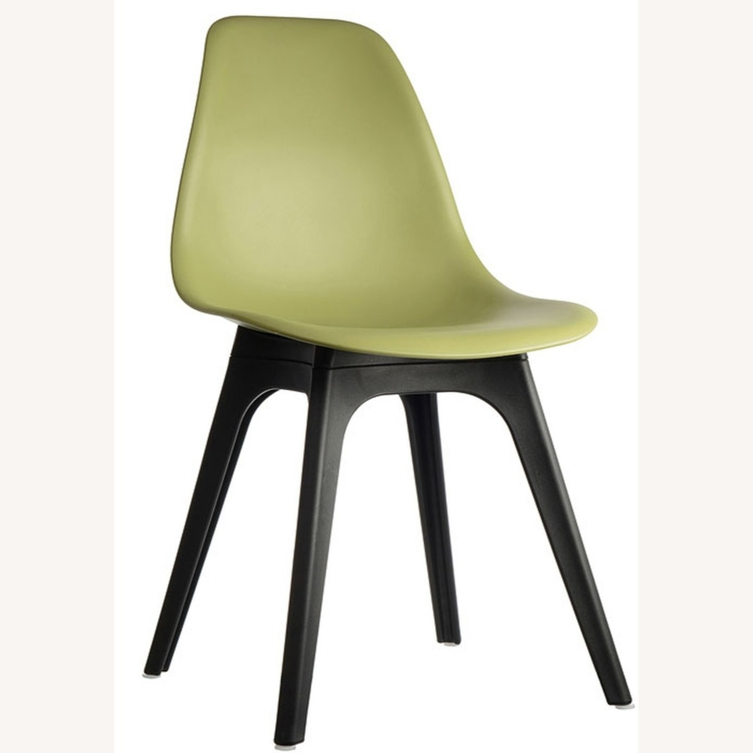 Side Chair In Lime Color Finish - image-0